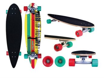 Step Loopfiets Longboard