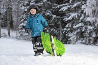 Stiga Snowboard en Sneeuw Matras